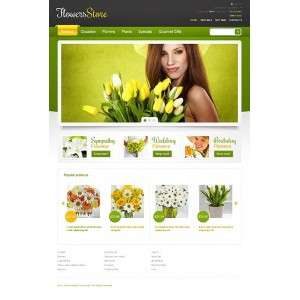 PrestaShop Templates TM 39001 v1.4