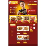 PrestaShop Template TM 33141 Chinese Food