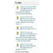 Free Twitter module