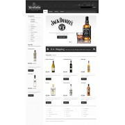 PrestaShop Templates TM 39883 v1.4 - Alcoholic Beverage Store