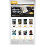 PrestaShop Templates TM 39885 v1.4 - Game Store