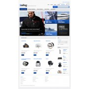 PrestaShop Templates TM 39947 v1.4 - Yachting Store